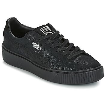 kengät Naiset Matalavartiset tennarit Puma PUMA PLATFORM RESET WN'S Black