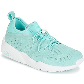 kengät Naiset Matalavartiset tennarit Puma BLAZE OF GLORY SOFT WNS Blue / White