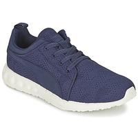 kengät Miehet Juoksukengät / Trail-kengät Puma CARSON RUNNER CAMO MESH EEA Blue