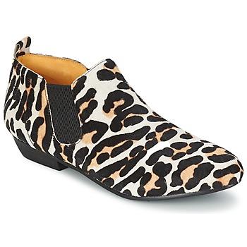 kengät Naiset Bootsit Buffalo SASSY Leopardi