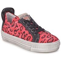 kengät Tytöt Matalavartiset tennarit Diesel JAKID Pink / Leopardi