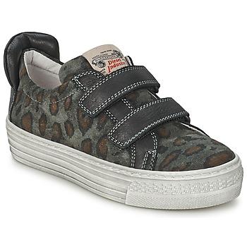 kengät Lapset Matalavartiset tennarit Diesel JERMAN Grey / Leopardi