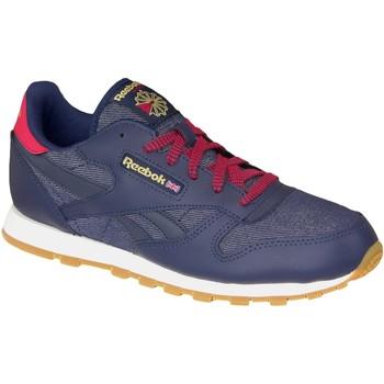 kengät Naiset Tennarit Reebok Sport Classic Leather DG AR2042 blue