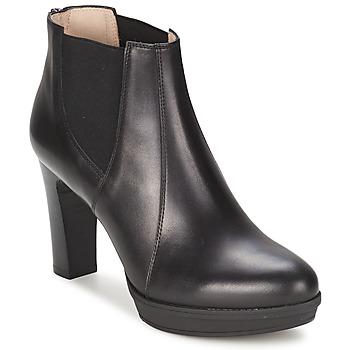 kengät Naiset Nilkkurit Unisa MIJAL Black