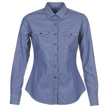 vaatteet Naiset Paitapusero / Kauluspaita Yurban FERVINE Blue