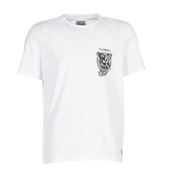 vaatteet Miehet Lyhythihainen t-paita Element ATTACK SS White