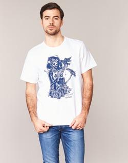vaatteet Miehet Lyhythihainen t-paita Element SERENADE SS White