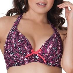 vaatteet Naiset Bikinit Curvy Kate CS2921 CHERRY BERRY Violetti