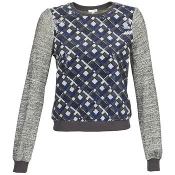 vaatteet Naiset Svetari Manoush MOSAIQUE Grey / Black / Blue