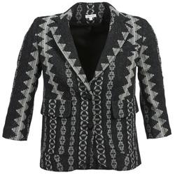 vaatteet Naiset Takit / Bleiserit Manoush TAILLEUR Grey / Black