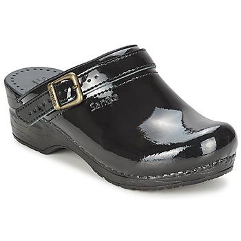 kengät Naiset Puukengät Sanita FREYA Black