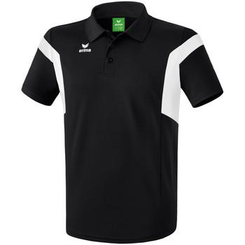 vaatteet Miehet Lyhythihainen poolopaita Erima Polo  Classic Team noir/blanc