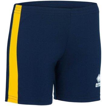 vaatteet Naiset Shortsit / Bermuda-shortsit Errea Short femme  Amazon bleu marine/blanc
