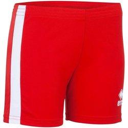 vaatteet Naiset Shortsit / Bermuda-shortsit Errea Short femme  Amazon rouge/blanc