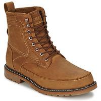 kengät Miehet Bootsit Timberland 6IN MIXED MEDIA WP Musta / sateenkaari / Lakattu suklaanruskea