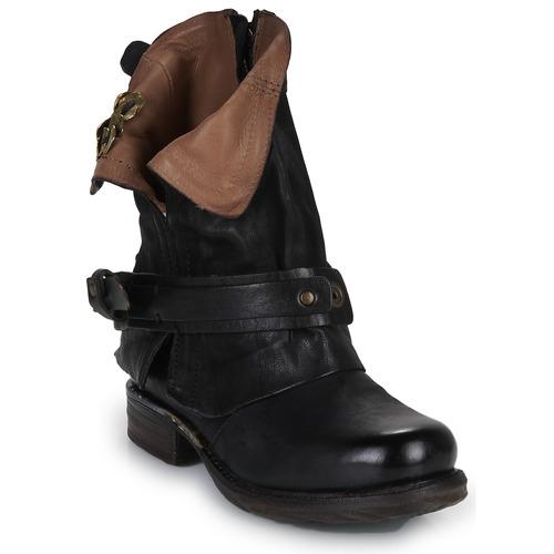 kengät Naiset Bootsit Airstep / A.S.98 SAINT BIKE Black
