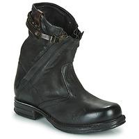 kengät Naiset Bootsit Airstep / A.S.98 SAINT METAL ZIP Black