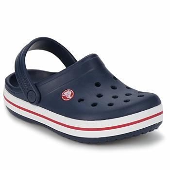 kengät Lapset Puukengät Crocs CROCBAND KIDS Laivastonsininen