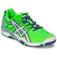 kengät Miehet Tenniskengät Asics GEL-RESOLUTION 5 Green / Blue