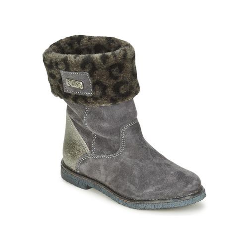 kengät Tytöt Bootsit Le Temps des Cerises JUNIOR EVA Grey