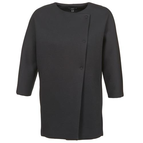 vaatteet Naiset Paksu takki Mexx 6BHTJ003 Black