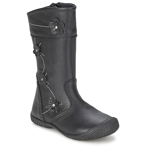 kengät Tytöt Saappaat Citrouille et Compagnie AMATIS Black