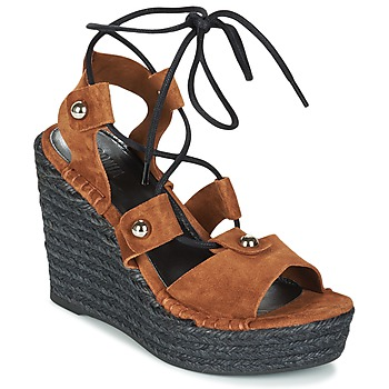 kengät Naiset Sandaalit ja avokkaat Sonia Rykiel 622908 Tabacco