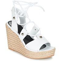 kengät Naiset Sandaalit ja avokkaat Sonia Rykiel 622908 White