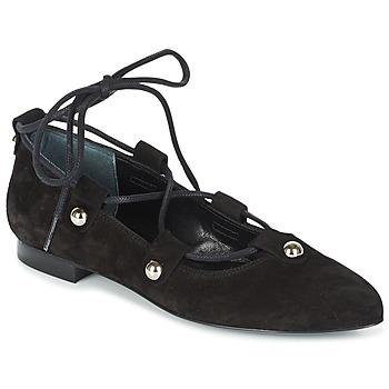 kengät Naiset Balleriinat Sonia Rykiel 622107 Musta