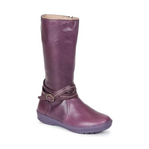kengät Tytöt Saappaat Garvalin TARDA Violet