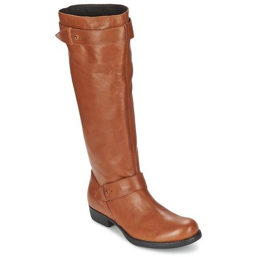 kengät Naiset Saappaat One Step IANNI Caramel