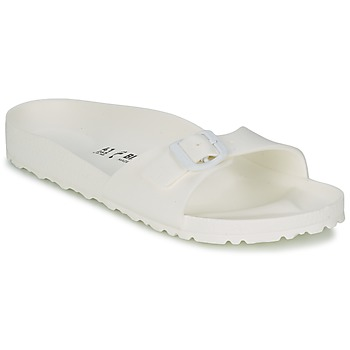 kengät Naiset Sandaalit Birkenstock MADRID EVA White