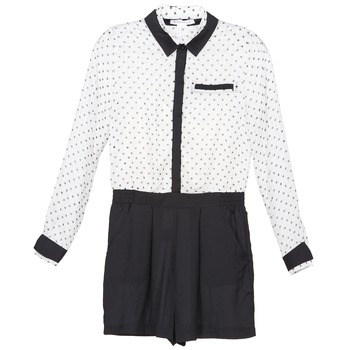 vaatteet Naiset Jumpsuits / Haalarit BCBGeneration ANITA White