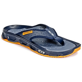 kengät Miehet Varvassandaalit Salomon RX BREAK Blue / Orange