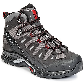 kengät Miehet Vaelluskengät Salomon QUEST PRIME GTX® Grey / Black / Red