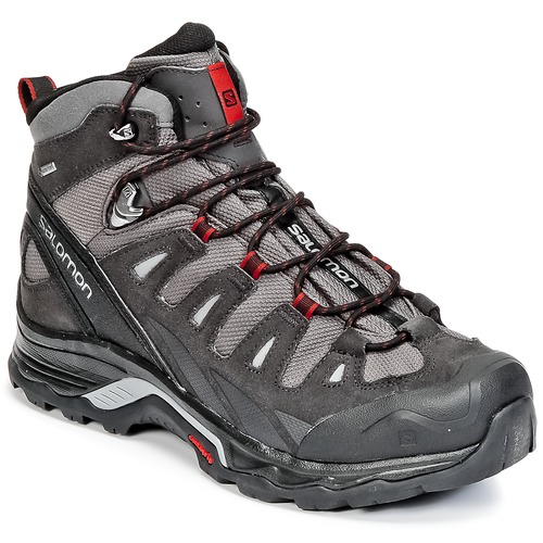 kengät Miehet Vaelluskengät Salomon QUEST PRIME GTX® Grey / Black / Red