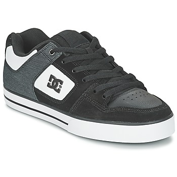 kengät Miehet Skeittikengät DC Shoes PURE SE M SHOE BKW Black / White