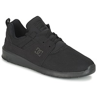 kengät Miehet Matalavartiset tennarit DC Shoes HEATHROW M SHOE 3BK Black
