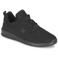 kengät Miehet Matalavartiset tennarit DC Shoes HEATHROW M SHOE 3BK Black