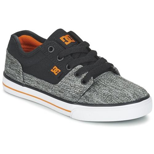 kengät Pojat Matalavartiset tennarit DC Shoes TONIK TX SE B SHOE BGY Black / Grey / Orange