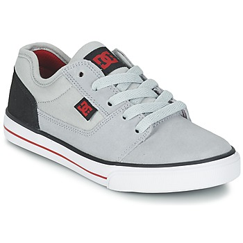 kengät Pojat Matalavartiset tennarit DC Shoes TONIK B SHOE XSKR Grey / Black / Red