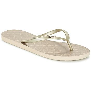 kengät Naiset Varvassandaalit Roxy VIVA III J SNDL GLD Gold