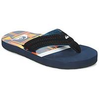 kengät Lapset Varvassandaalit Quiksilver BASIS-YT B SNDL XBWN Black / Blue / Orange