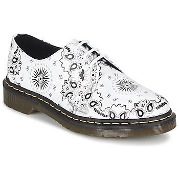 kengät Derby-kengät Dr Martens 1461 White / Black