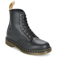 kengät Bootsit Dr Martens VEGAN 1460 Musta