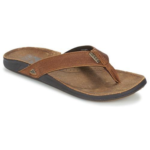 kengät Miehet Varvassandaalit Reef REEF J-BAY III Camel