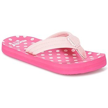 kengät Tytöt Varvassandaalit Reef LITTLE AHI Pink