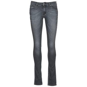 vaatteet Naiset Slim-farkut Cimarron LANA Grey