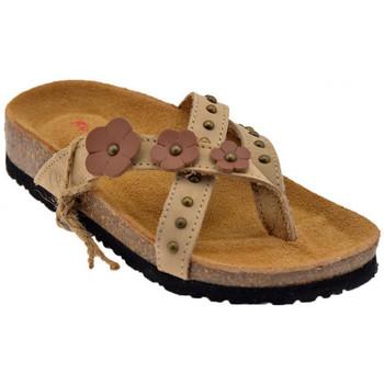 kengät Naiset Varvassandaalit Lumberjack  Beige