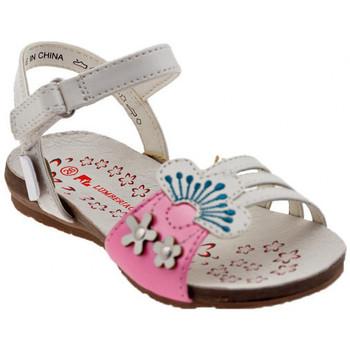 kengät Tytöt Sandaalit ja avokkaat Lumberjack  Valkoinen